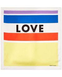 Rebecca Minkoff - Love Stripe Bandana - Lyst
