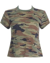 RE/DONE - Women's Slim Tee - Lyst