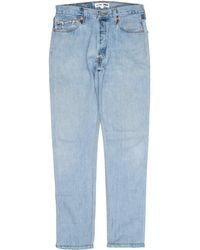 RE/DONE - Straight Skinny - Lyst