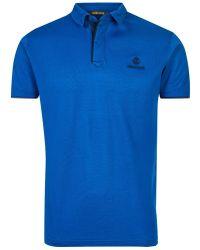 Roberto Cavalli - Poloshirt Blue Fsr683jd064 - Lyst