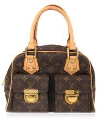 Louis Vuitton | Manhattan Pm Handbag Bag Monogram Canvas M40026 | Lyst
