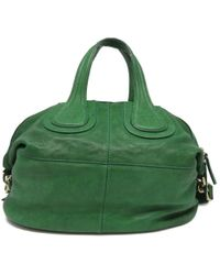 Givenchy - Nightingale Satchel Bag Calfskin Leather Green 6335 Ma0143 6335 - Lyst