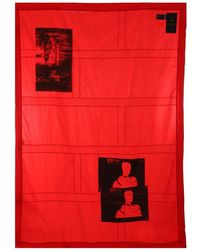 Raf Simons - Red Monk Scarf - Lyst