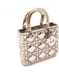 Dior | Charm Carnage Mirror Mirror Silver Wristlet | Lyst