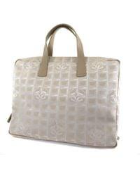 Chanel - Nylon Briefcase New Travel Line - Lyst