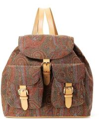 Etro - Paisley Women's Two Pocket Backpack - Lyst