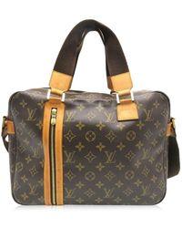 0f696089b3ac Louis Vuitton - Lv Sac Bosphore Satchel Handbag Monogram Brown M40043 7959  - Lyst
