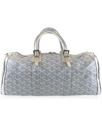Goyard - Croisiere Hand Bag Silver Color - Lyst