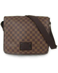 Louis Vuitton | Damier Brooklyn Mm Shoulder Bag Ebene N51211 | Lyst