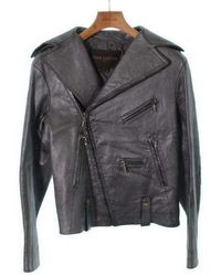 Louis Vuitton Motorcycle Jacket Silver 34 - Metallic