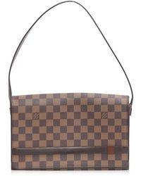 314cb11d9f05 Louis Vuitton - Authentic Tribeca Long Shoulder Bag N 51160 Damier Canvas  Used - Lyst