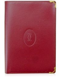 Cartier - Passport Case Must Line Mens Used T4167 - Lyst