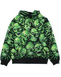 Supreme - Hoodie Green L - Lyst