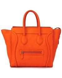 Céline - Pre-owned Céline Mini Luggage - Lyst