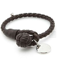 Bottega Veneta - Intrecciato Nappa Single Strand Bracelet - Lyst