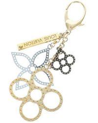 Louis Vuitton - Key Rings Silver - Lyst