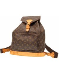 Louis Vuitton - M51135 Monogram Montsouris Gmbackpack - Daypack Brown Monogramcanvas Lv 0162 - Lyst
