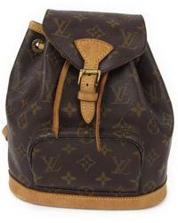 Louis Vuitton - Mini Montsouris Backpack Monogram Canvas M51137 - Lyst