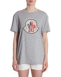 "Moncler - ""flic-flac"" T-shirt - Lyst"