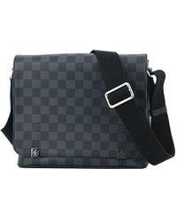 Louis Vuitton - District Pm Nm Damier Graphite N41028 Shoulder Bag [new] - Lyst