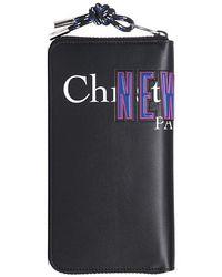 Dior Homme - Logo Print Long Wallet Black - Lyst