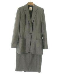 Hermès - Dress Grey 38/38 - Lyst