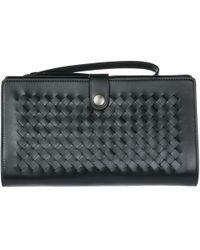 Bottega Veneta - Men's Leather Travel Document Case Holder 302652vq1221000 Black - Lyst