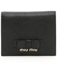 Miu Miu - Wallets & Cardholders Nero - Lyst