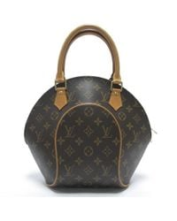 5423ce5866a2 Louis Vuitton - Auth Monogram Ellipse Pm Hand Tote Bag M51127 Used Vintage  - Lyst