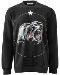 Givenchy - Monkey Brothers Sweatshirt - Lyst