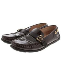 Louis Vuitton - Leather Shoes Brown 37 - Lyst