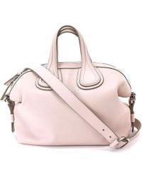 fc9e2f52aef2 Givenchy - Nightingale Small 2way Hand Bag Leather Bb05096025 90043139.. -  Lyst