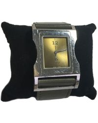 Dior - Man In Steel And Leather Watch - Lyst