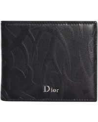 Dior Homme - Bifold Wallet With Printing - Lyst