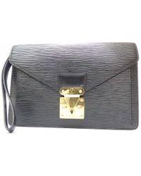 Louis Vuitton - Authentic Epi Sellier Dragonne Clutch Hand Bag M52612 Men's - Lyst