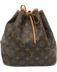 Louis Vuitton - Lv Petit Noe Bucket Bag Shoulder Bag M42226 Monogram 6454 - Lyst
