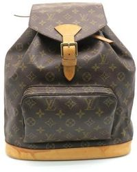 Louis Vuitton - Monogram Montsouris Gm Shoulder Bag Brown 6371 - Lyst