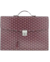 Goyard - Briefcases Purple - Lyst