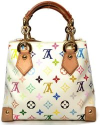 a88db23d8074 Louis Vuitton - Auth Audra Hand Bag M40047 Monogram Multicolor Blonc Used -  Lyst