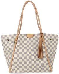 c1ced8ec12df Louis Vuitton - Tournell Pm Tote Bag Damier Azur N44027 - Lyst