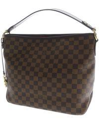 639cc01620b5 Louis Vuitton - Damier Canvas Shoulder Bag N41459 Delightful Full Pm - Lyst