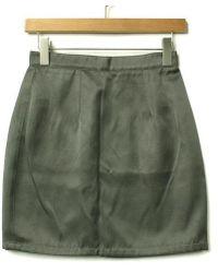 Miu Miu - Mini Skirt Grey 38 - Lyst