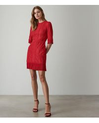 bd712c373997 Self-Portrait Freya Embroidered Dress, Women's, Size: 4, Black in ...
