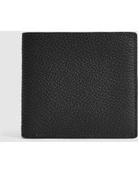 Reiss Leather Wallet - Black
