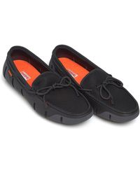 Swims - Stride Lace Loafer, Black Graphite Grey Shoes - Lyst