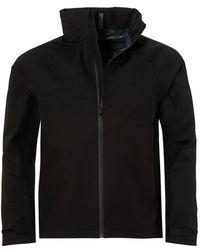 Ralph Lauren - Foldaway Black Ripstop Jacket - Lyst