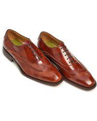 Oliver Sweeney - Alasslo Shoe, Handburnished Antique Tan Oxford Shoe - Lyst
