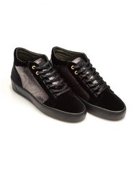 Android Homme - Propulsion Mid Sneakers, Snake Print Black Sneakers - Lyst