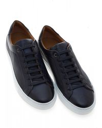 BOSS - Mirage_tenn_hb Trainers, Navy Blue Trainers - Lyst