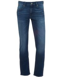 BOSS - Orange63 Jeans, Slim Fit Mid Whisker Stretch Denim - Lyst